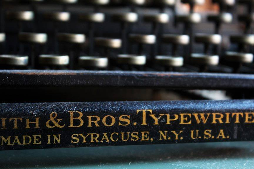 Smith & Bros. Typewriter